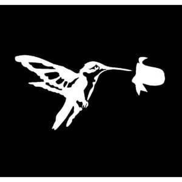 Bird Sticker – Hummingbird Decal a2
