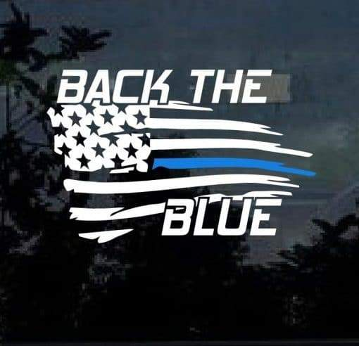 Blue lives Matter Sticker – Back the Blue Decal