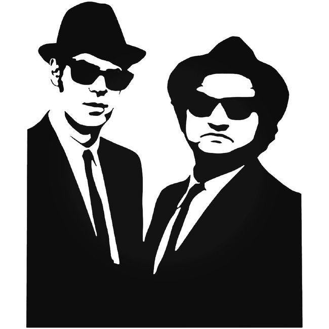 Blues Brothers 1923 Decal Sticker