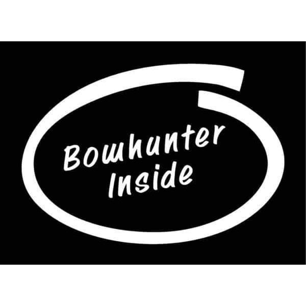 Bow Hunting s Bow Hunter Inside Hunting Window Decal Sticker
