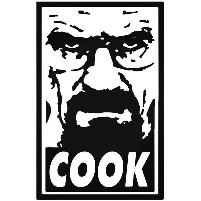 Breaking Bad Heisenberg Cook Decal Sticker