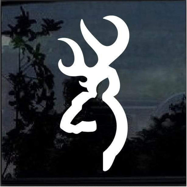 Browning Buck Hunting Window Decal Sticker