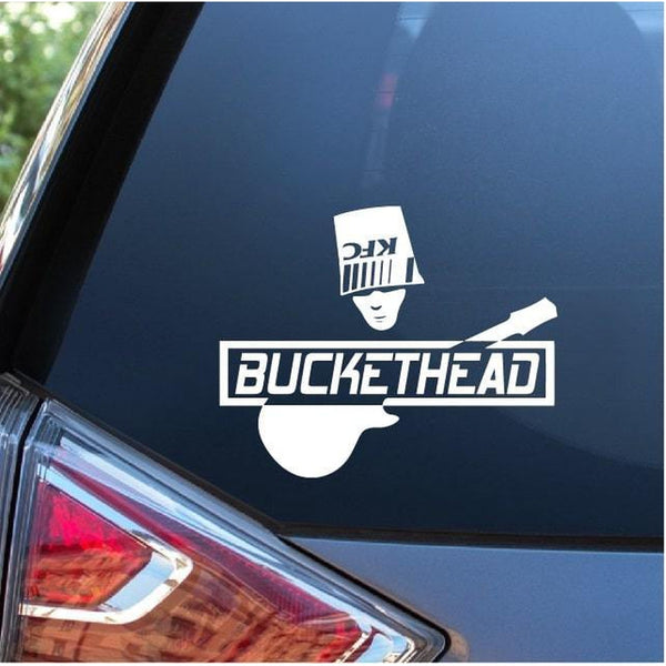 BucketHead – Band Stickers A2