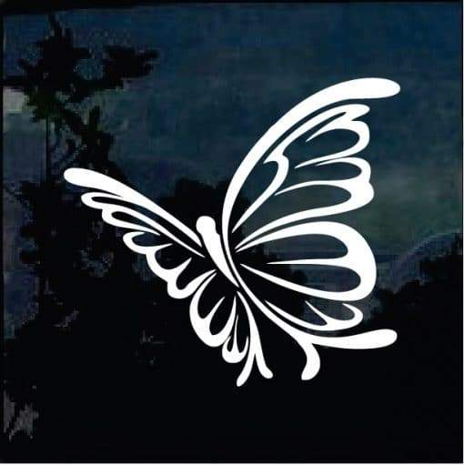 Butterfly 4 Decal – Butterfly Stickers