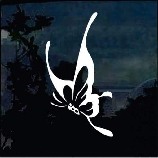 Butterfly a4 Car Window Decal Sticker