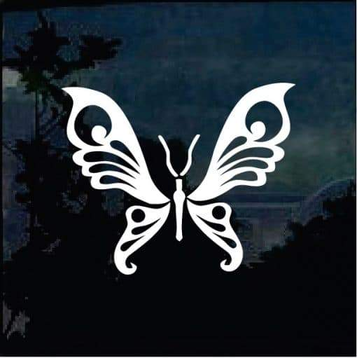Butterfly Window Decal Sticker a12