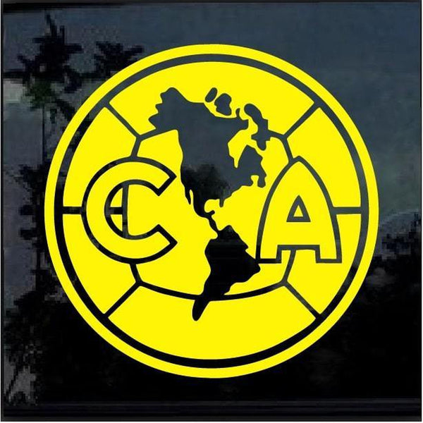 CA Club America Soccer Window Decal Sticker