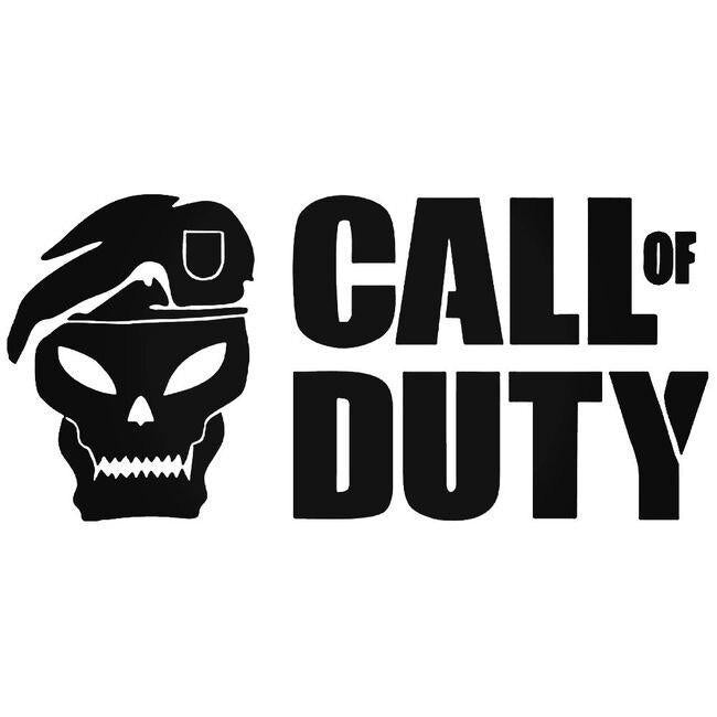 Call Of Duty Decal Sticker