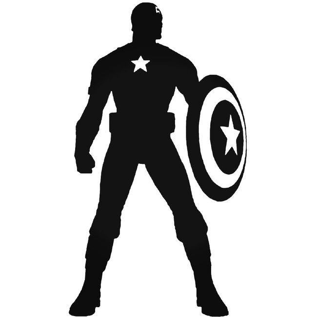 Captain America Marvel Decal Sticker
