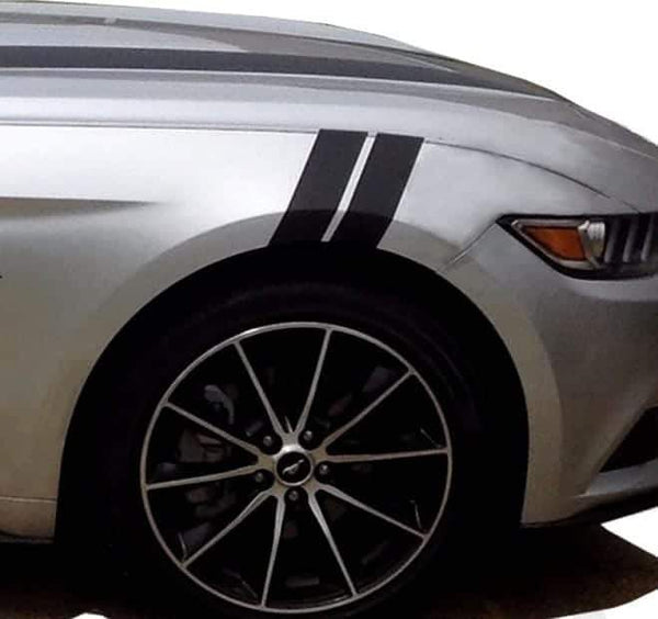 Car Racing Stripe – Ford Mustang 3 Inch Fender Hash Decals