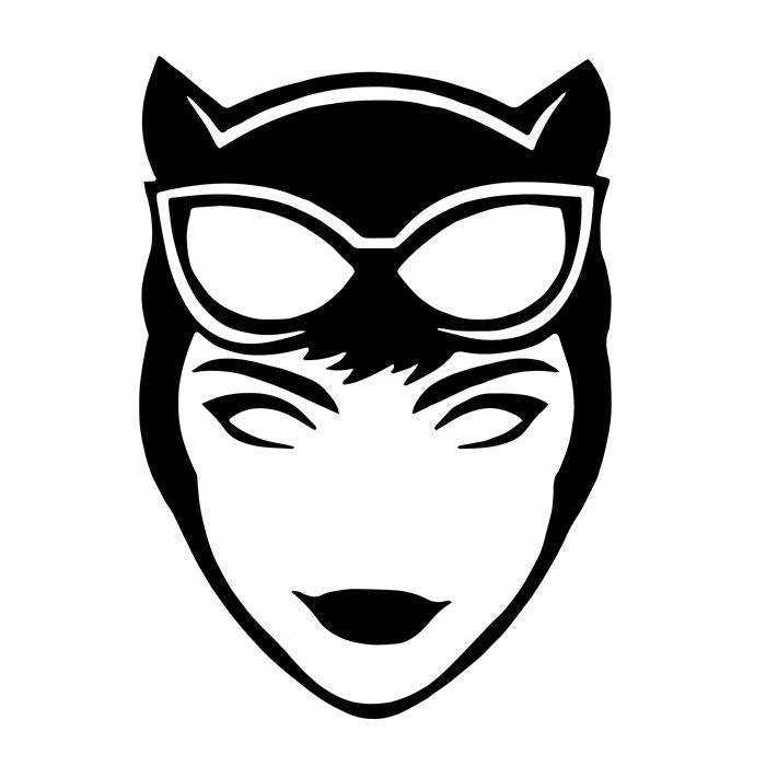 Catwoman Decal Sticker