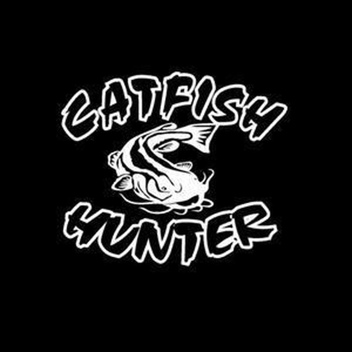 Catfish Hunter Fishing Decal Stickers