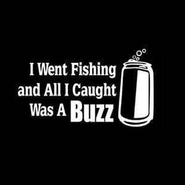 Caught Buzz Fishing Decal Stickers