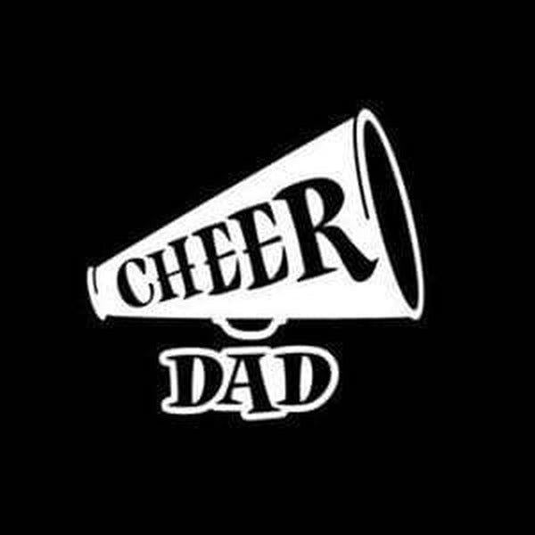Cheer Dad Window Decal Sticker