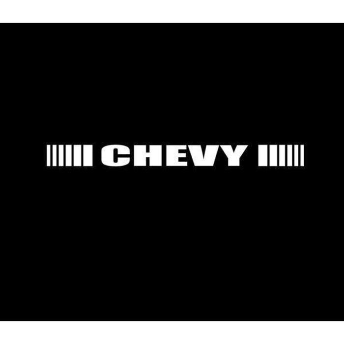 Chevrolet Chevy Windshield Banner Decal Sticker A4