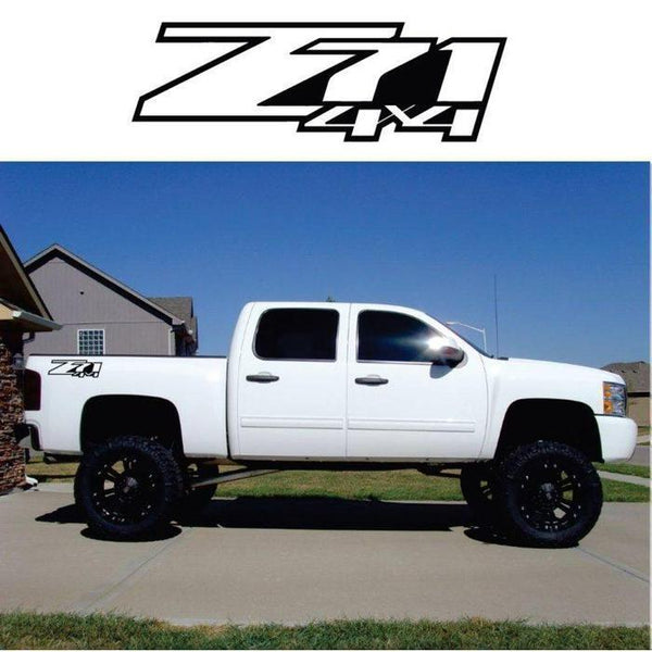 Chevrolet Z71 z-71 4×4 Sticker Set of 2 – 4×4 Decals