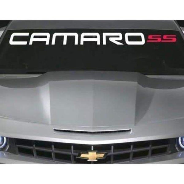 Chevy Camaro SS Windshield Banner Decal Sticker