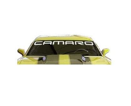 Chevy Chevrolet Camaro Windshield Banner Decal Sticker