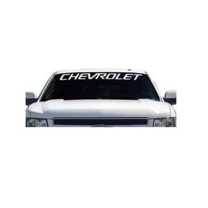 Chevy Chevrolet classic Windshield Banner Decal Sticker
