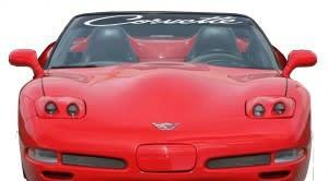 Chevy Chevrolet Corvette Windshield Banner Decal Sticker