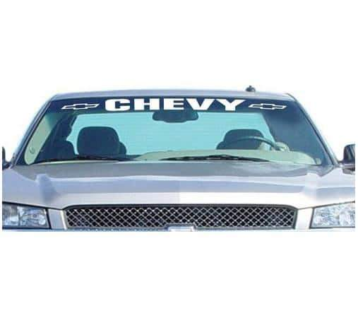 Chevy Chevrolet II Windshield Banner Decal Sticker