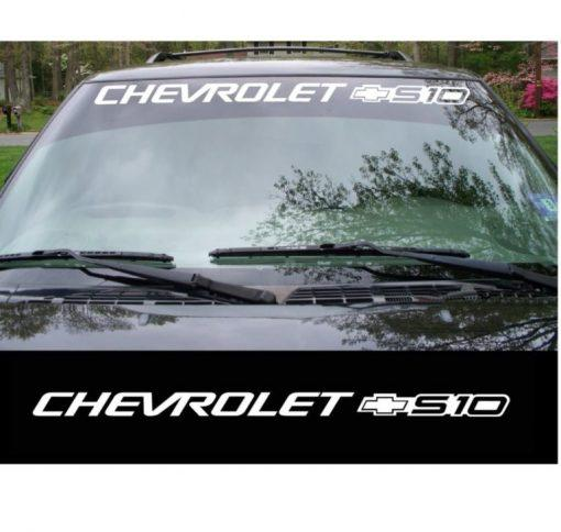 Chevy Chevrolet S-10 s10 Windshield Banner Decal Sticker