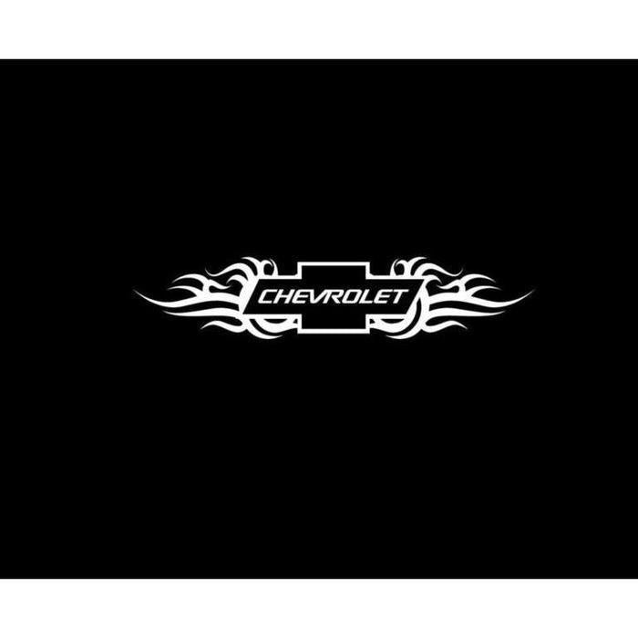 Chevy Chevrolet Tribal Truck Decal Sticker