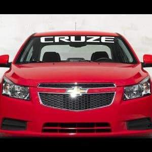 Chevy Cruze Chevrolet Windshield Banner Decal Sticker