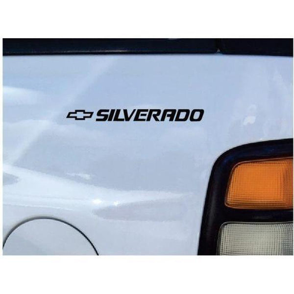 Chevy SIlverado Rear Quarter Decal Stickers Set of 2
