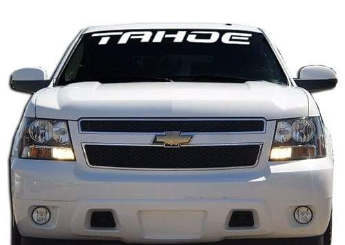 Chevy Tahoe Windshield Banner Decal Sticker