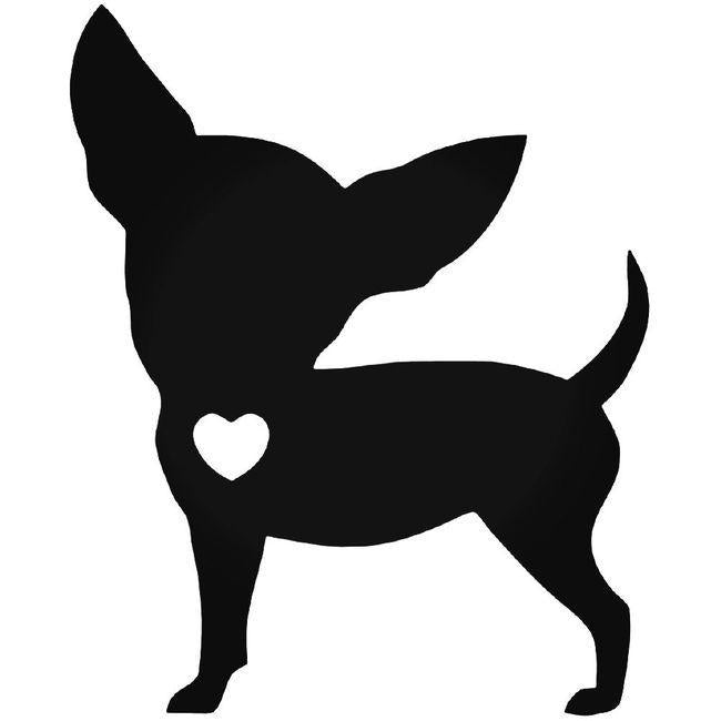 Chihuahua Love Dog Decal Sticker