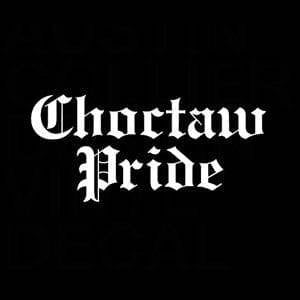 Choctaw Pride Window Decal Sticker