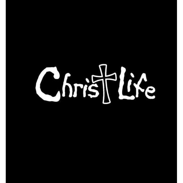 Christ Life Christian Decal Stickers