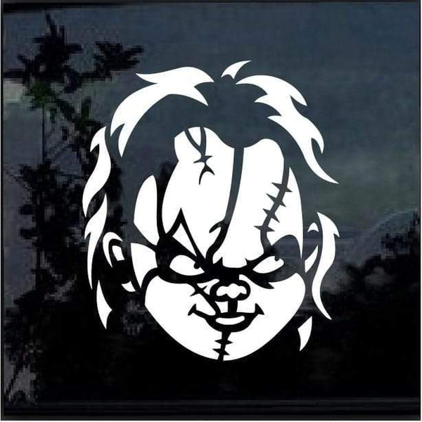 Chucky Childs Play Window Decal Sticker