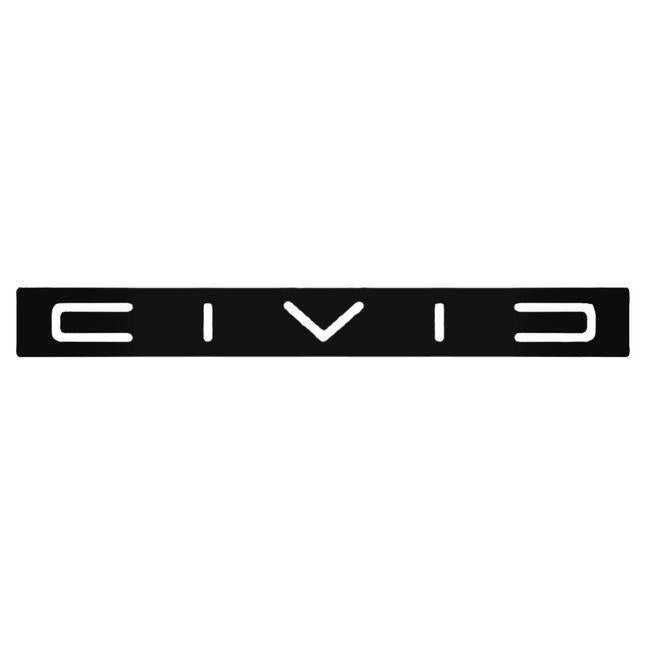Civic 1 Decal Sticker