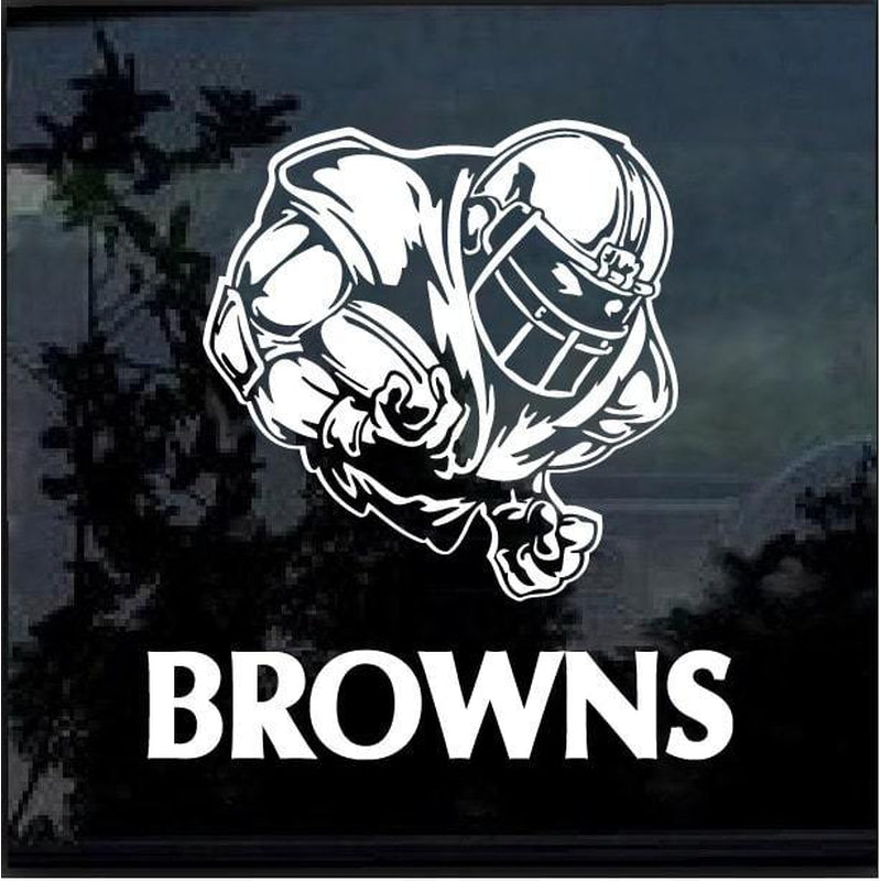 Cleveland Browns Football player Window Decal Sticker