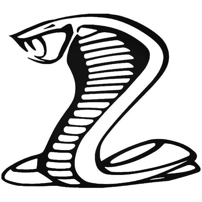 Cobra Exhaust Decal Sticker