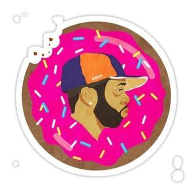 J Dilla Donuts decal Laptop Decals Stickers