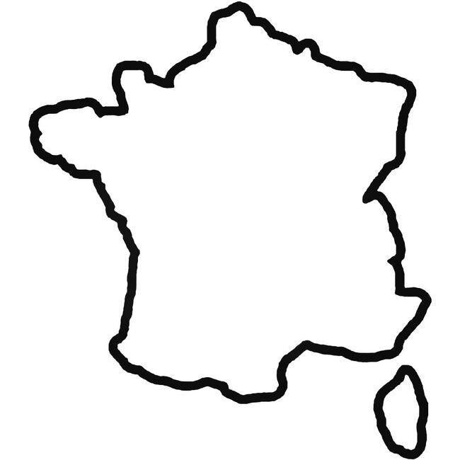 Country France Decal Sticker