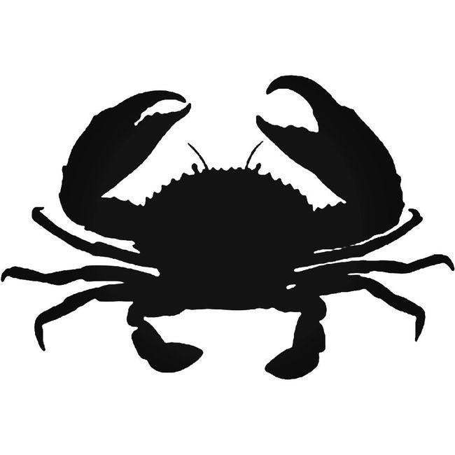 Crab Seafood 2 Decal Sticker