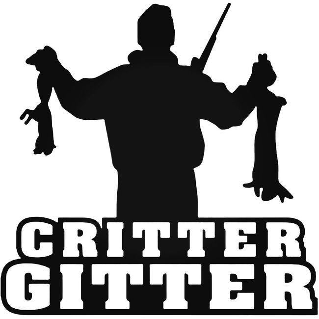 Critter Gitter Decal Sticker
