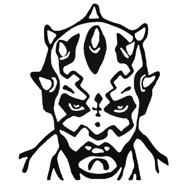 Darth Maul Decal Sticker