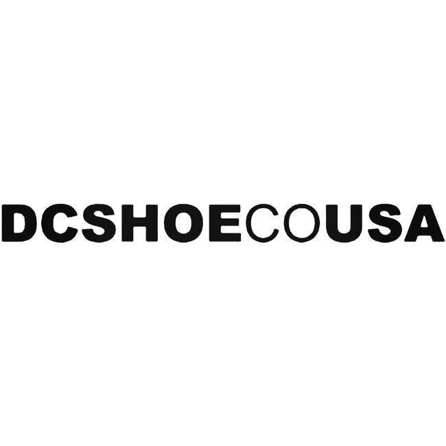 Dc Shoe Usa Decal Sticker