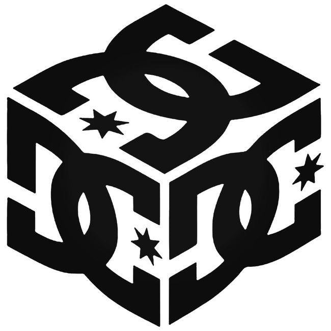 Dc Shoes Skateboarding Decal Sticker