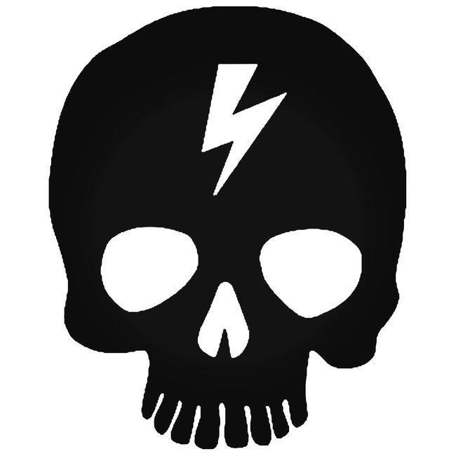 Death Skull 4 Decal Sticker