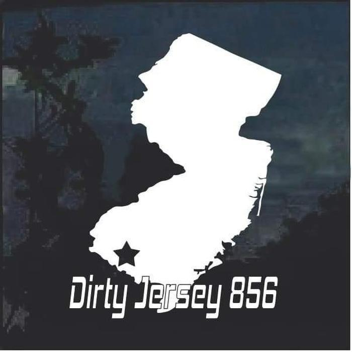 Dirty Jersey 856 special order 60 decals