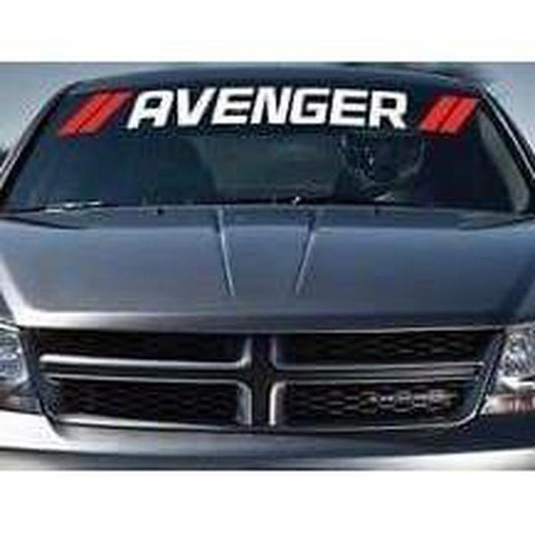 Dodge Avenger Windshield Banner Decal Sticker