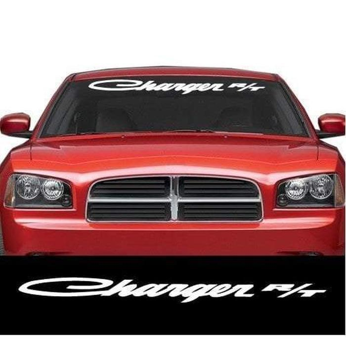 Dodge Charger R/T Windshield Banner Decal Sticker