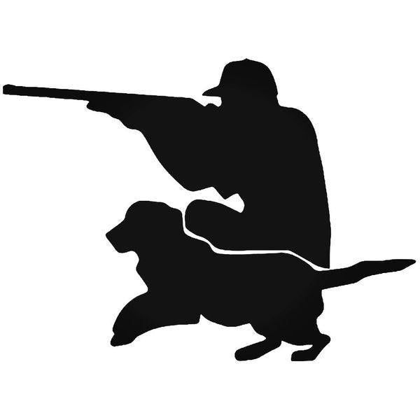 Dog Hunter Duck Hunting Decal Sticker
