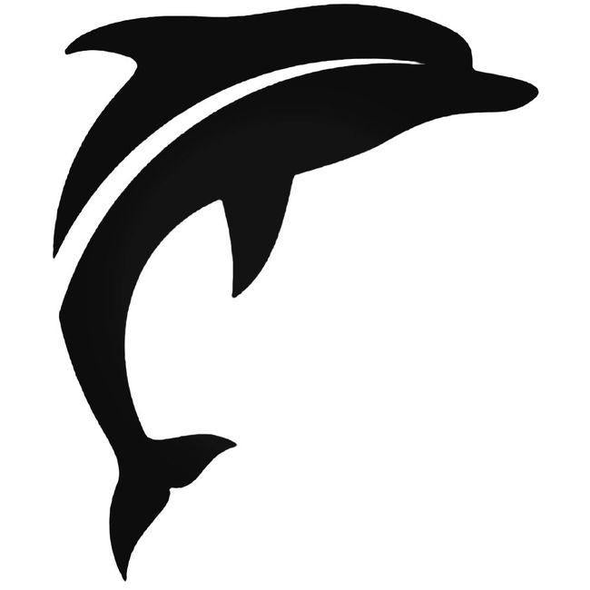 Dolphin 2 Decal Sticker